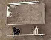 Зеркало-шкаф с полкой Corozo Абсент 80, фото 1