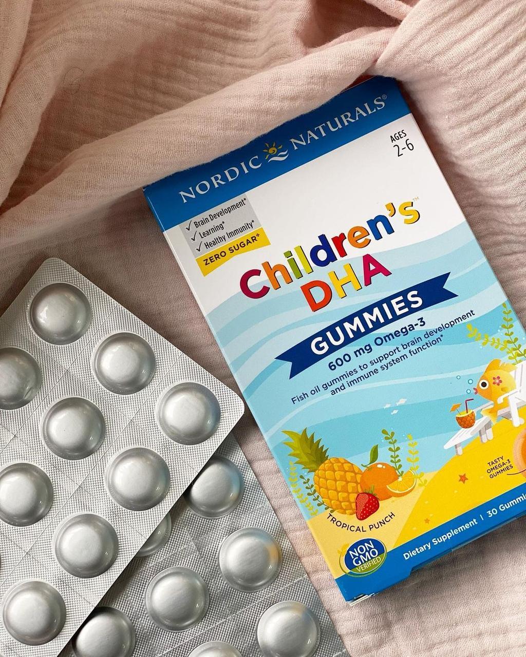 Омега-3 DHA Gummies от NordicNaturals