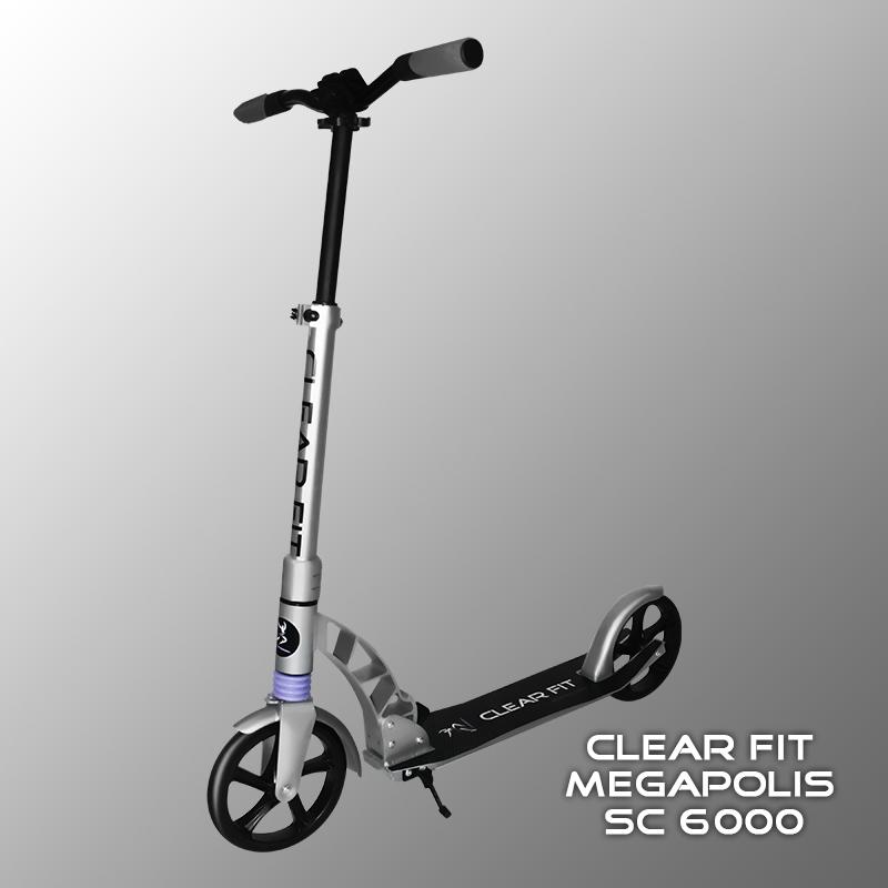 Взрослый самокат Clear Fit Megapolis SC 6000