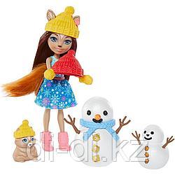 Mattel Enchantimals Встреча со снеговиком GNP16