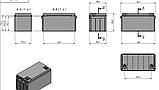 Аккумулятор LiFePO4 100Ah 12V, фото 2