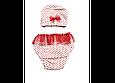 Подгузники для плавания горошек рюши, фото 3