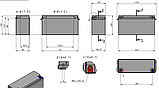 Аккумулятор LiFePO4 180Ah 12V, фото 2