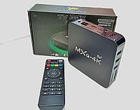 Смарт ТВ приставка Android TV BOX MXQ-4K Ultra HD 5G 1G/ 8G с настроенным Smart