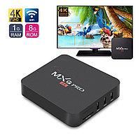 Смарт ТВ приставка Android TV BOX 4K MXQ-Pro 1G/ 8G с настроенным Smart