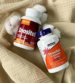 Inozitol NOW, Инозитол в капсулах, 500 mg, 100 капсул