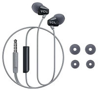 TCL In-ear Wired Headset ,Frequency of response: 10-22K, Sensitivity: 105 dB, Driver Size: 8.6mm, Impedence: