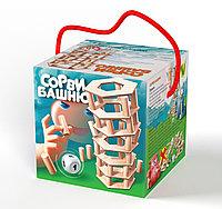 Игра для всей семьи «Сорви башню»