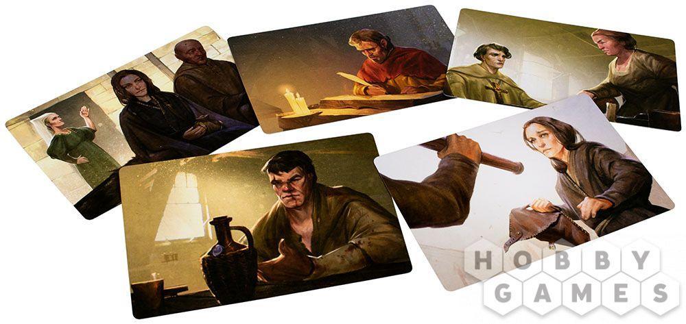 Настольная игра: Место преступления: Средневековье - фото 5