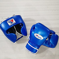 Боксерский набор Шлем Перчатка Winning