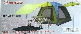 Палатка 5-ти местная Travetop CT-2083 с 2-мя навесами 240+260х240h185см