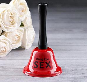 """Колокольчик настольный """"RING FOR SEX"""""""