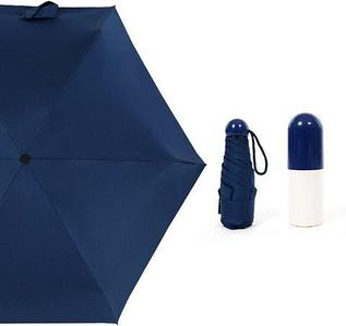 Зонт карманный универсальный Mini Pocket Umbrella (Синий)