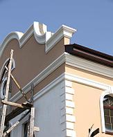 Карнизы фасадные, обрамления из пенопласта
