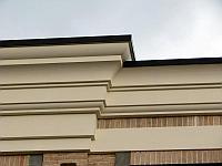 Карниз фасадный, декор из пенопласта