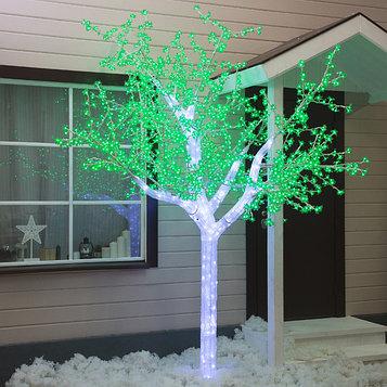 """Дерево светодиодное улич. 3 м. """"Акриловое"""" 2304 Led, 140 W, 220V Зеленый"""