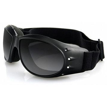 Очки Cruiser чёрные с дымчатыми линзами ANTIFOG