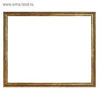 Рама для картин (зеркал) 40 х 50 х 2.5 см, пластиковая, Adele золото