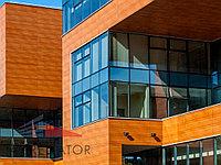 Облицовка фасадов зданий из HPL-панелей
