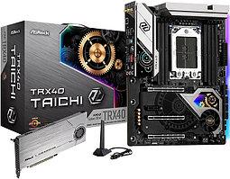 Материнская плата ASRock TRX40 TAICH Socket sTRX4 8xDDR4 8xSATA3 RAID 2xM.2 ATX TRX40 TAICHI