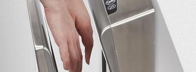антивандальные высокоскоростные электросушилки для рук