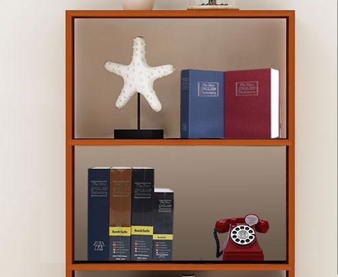 Книга-сейф The New English Dictionary 265х200х65 мм большая бежевая - фото 7