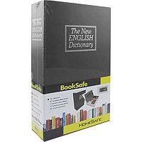 Книга-сейф The New English Dictionary черная 265х200х65 мм большая