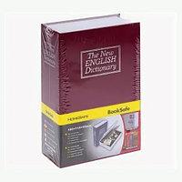 Книга-сейф с ключом The New English Dictionary красная 180x115x55 мм маленькая