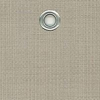 Сетка затеняющая из текстилена TEXSTYLE PRIVE 580 г/м2 1x25 м, цвет шампань