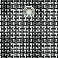 Сетка затеняющая из текстилена TEXSTYLE VIP 700 г/м2 1x25 м, цвет серебро/антрацит