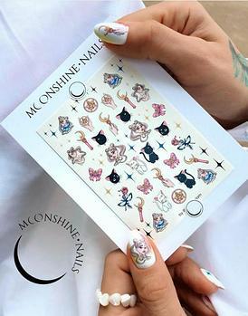 Слайдер дизайн Moonshine Nails