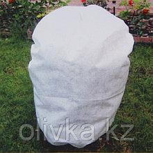 Чехол для растений, прямоугольный на шнурках, 160 × 90 см, спанбонд с УФ-стабилизатором, плотность 42 г/м²,