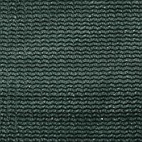 Сетка фасадная затеняющая, 3 × 10 м, плотность 80 г/м², зелёная, с клипсами