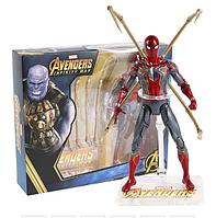 Игровая фигурка Железный Человек Паук Avengers Marvel с подвижными соединениями