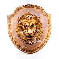 Панно «Арыстан» с драгоценными камнями