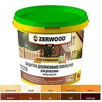 Защитно-декоративное покрытие ZERWOOD ZDP бесцветная 0,9кг