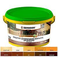 Защитно-декоративное покрытие ZERWOOD ZDP белый 2.5кг