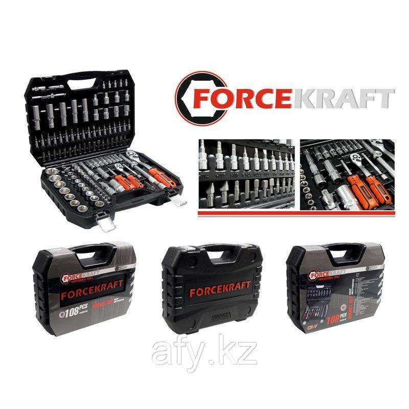 Набор инструментов Forcekraft 108 предмета
