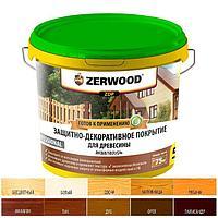 Защитно-декоративное покрытие ZERWOOD ZDP белый 5кг