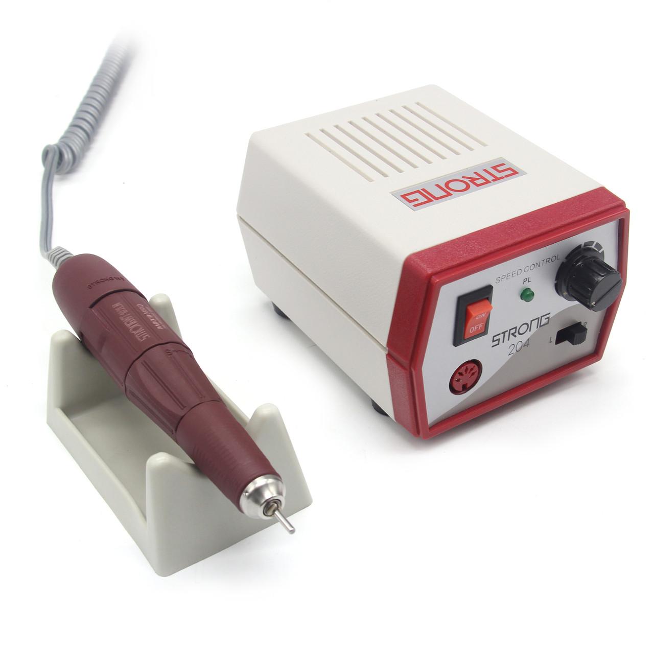 Аппарат для маникюра и педикюра Strong 204 красный