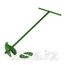 Бур садовый ручной, со сменными ножами: d = 150 мм, d = 200 мм, L = 1 м
