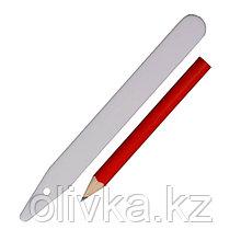 Набор садовый для маркировки: ярлыки 12.5 см - 25 шт,, карандаш, GRINDA