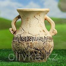 """Ваза настольная """"Афина"""" шамот, 24 см, керамика"""