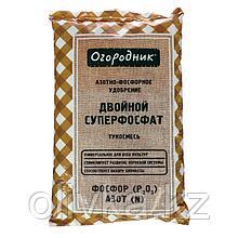 Удобрение сухое Огородник тукосмесь суперфосфат двойной минеральное гранулированное 0,7кг