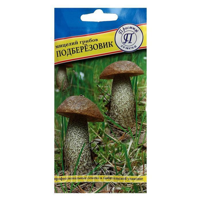Мицелий гриб Подберёзовик, 50 мл