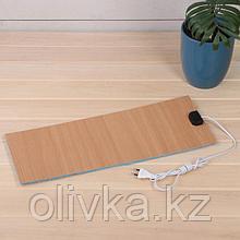 Электроподогревательный коврик для рассады, 50 × 20 см, 15 Вт