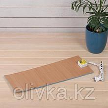 Электроподогревательный коврик для рассады, 48 × 20 см, 30 Вт, с терморегулятором