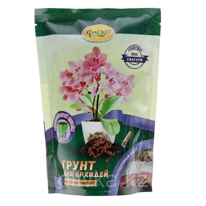 Грунт для Орхидей Фаско Цветочное счастье, дой-пак, 1 л