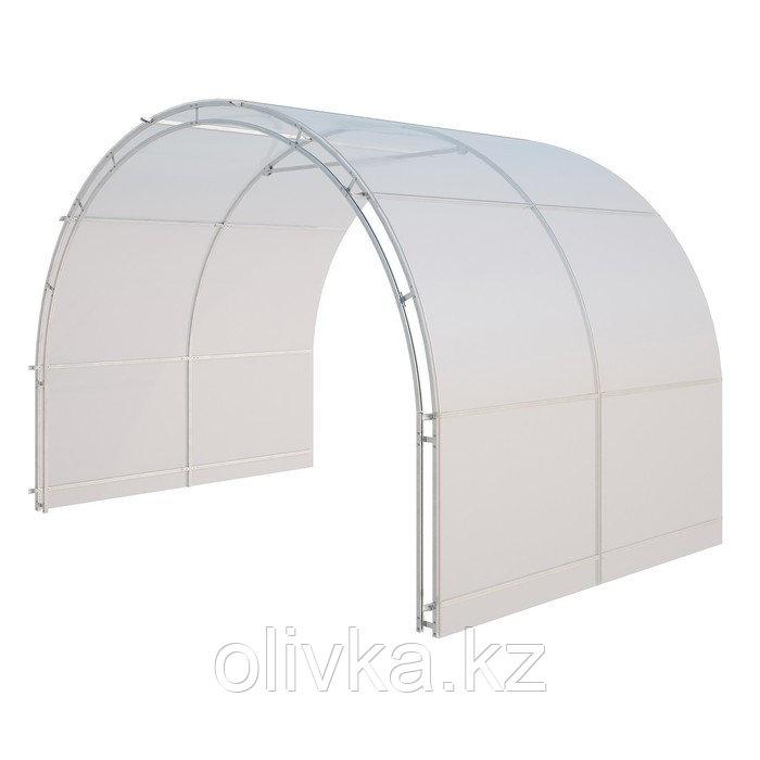 Удлинитель теплицы «Огородная», 2 × 3 × 2,1 м, оцинкованная сталь, без поликарбоната - фото 1