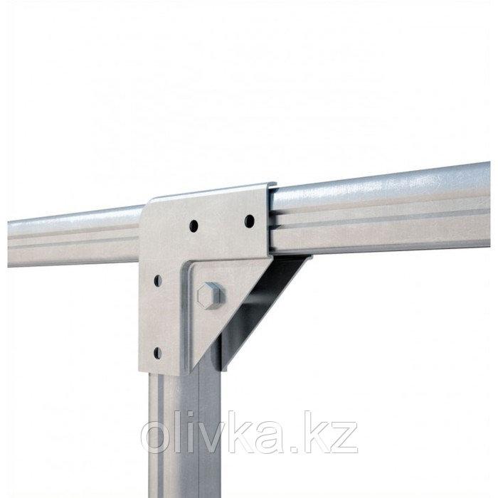 Удлинитель теплицы «Огородная», 2 × 3 × 2,1 м, оцинкованная сталь, без поликарбоната - фото 4